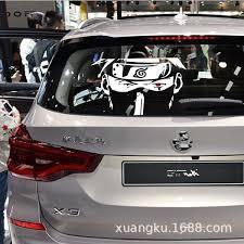Naruto Kakashi Car Sticker Ninja Car Window Decal Wish