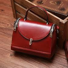 genuine leather handbag for women at