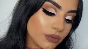 fall cut crease makeup tutorial you