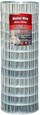 Amazon Com Yardgard 308322a 48 Inch By 100 Foot 12 5 Gauge 2 Inch By 4 Inch Mesh Galvanized Welded Wire Decking Materials Garden Outdoor