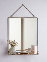 french folding mirror large