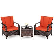 wicker rattan outdoor patio