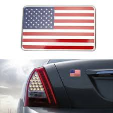 Us American Flag 3d Metal Car Decal Sticker Emblem Badge Adhesive Accessories Ebay