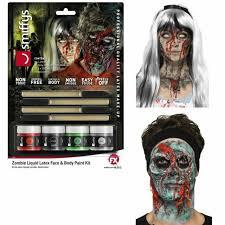 scar face liquid latex zombie kit