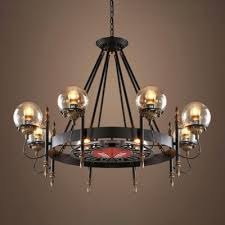modern wagon wheel chandelier easy