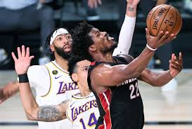 Jimmy Butler makes it a series: Heat beat Lakers in Game 3 - Los Angeles  Times