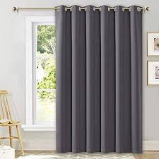 nicetown sliding door curtains