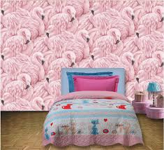 flamingos bird wallpaper murals