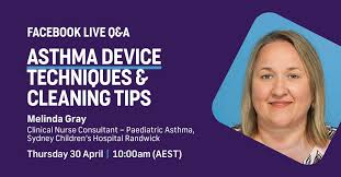 Join Melinda Gray, Clinical Nurse... - Asthma Australia | Facebook