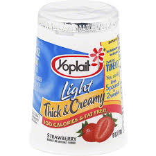 yoplait light thick creamy yogurt
