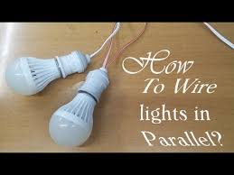 how to wire lights in parallel you