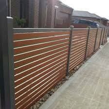 China Slat Fence Aluminum Fencing Wood Transfer Aluminum Gate Slat Fencing Privacy Louver Fence China Aluminum Fencing Aluminum Fence