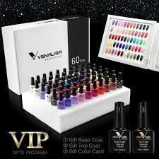 nail polish gel set 60 colors vip