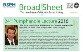 Events - The John Snow Society