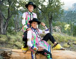 Adrian Matthias Stevens and Sean Snyder Are the Indigenous Two-Spirit  Couple Matching Their Regalia   Vogue