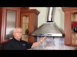 wall mount range hood installation