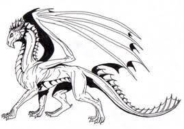 awesome drawings of dragons easy
