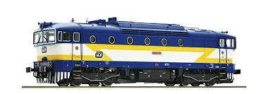 Roco Modelleisenbahn Products LOCOMOTIVES 73813 Diesel locomotive 754 058,  CD