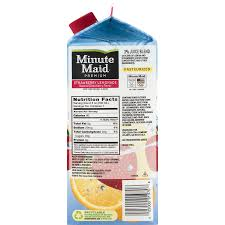 minute maid premium strawberry