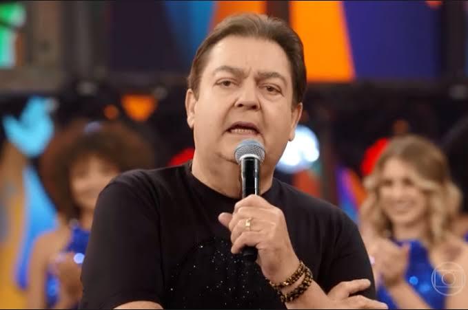 O apresentador Faustão. (Foto: reprodução/Rede Globo)