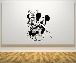 Mickey Minnie Mouse Love Silhouette Disney Kids Bedroom Vinyl Decal Sticker Car Archives Statelegals Staradvertiser Com