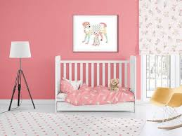puppy dogs nursery bedding baby girl