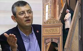 Ali Erbaş'ın 'çiğneyen lanete uğrar' sözüne CHP'li Özgür Özel'den ...