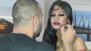 neil ramautar indian bridal make up