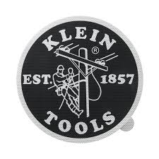 Klein Tools Mbe00133 12 Window Decal With Lineman Logo Hns Tools