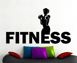 Fitness Girl Wall Decal Gym Stickers Sports Wall Art Fitness Club Decoration Sports Room Wall Art High Quality Waterproof A183 Gym Stickers Girl Wall Decalfitness Arts Aliexpress