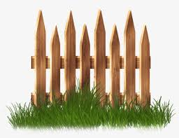 Wooden Garden Fence With Grass Png Clipart Garden Fence Clipart Png Free Transparent Png Download Pngkey