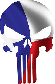 Punisher Skull Texas Flag Window Decal Sticker Graphic Multiple Sizes Ebay Punisher Skull Punisher Artwork Punisher