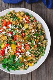 barley recipe with roasted vegetables