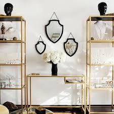 gold ikea bookcase design ideas