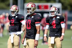 49ers Pregame Report Who Will Back Up Garoppolo Against Rams