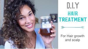 diy for hair growth and scalp treatment