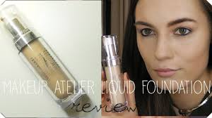 makeup atelier foundation review