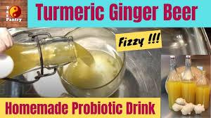 turmeric ginger beer homemade