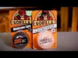 gorilla mounting tape you