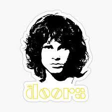 Jim Morrison The Doors Stickers Redbubble