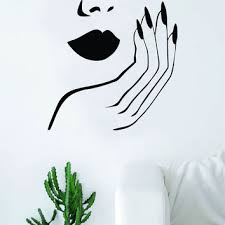 Shop Gold Lips Wall Art On Wanelo