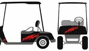 Rage Stripe Kit Golf Cart 3m Vinyl Decal Graphic Sticker Ez Go Club Car Hdk Gem Ebay