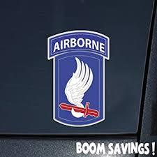 Amazon Com Us Army 173rd Airborne Brigade Ssi 6 Decal Sticker Automotive