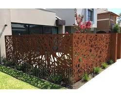 Rust Color Corten Steel Finishing Laser Cut Iron Fence Laser Cutting Residential Iron Fences And Gates Buy Wrought Iron Fence Styles Iron Wrought Steel Fence Laser Cutting Wrought Iron Fence Panels Product On Alibaba Com