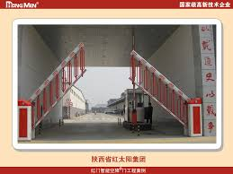 Automatic Industrial Fence Barrier Arm Automatic Boom Gate