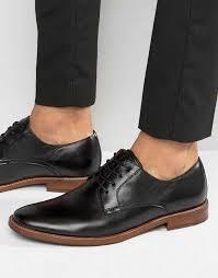 aldo mens black leather leather boots