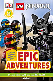 Amazon.com: DK Readers Level 3: LEGO NINJAGO: Epic Adventures ...