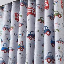 Cartoon Car Curtains For Kids Bedroom Curtains A Little Of Dis And Dat Home Decor