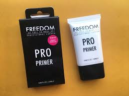 freedom pro makeup primer review swatches