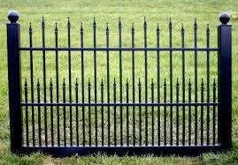 Black Vinyl Fence 4 Ft X 6 Ft Bsl 40 Fence Material